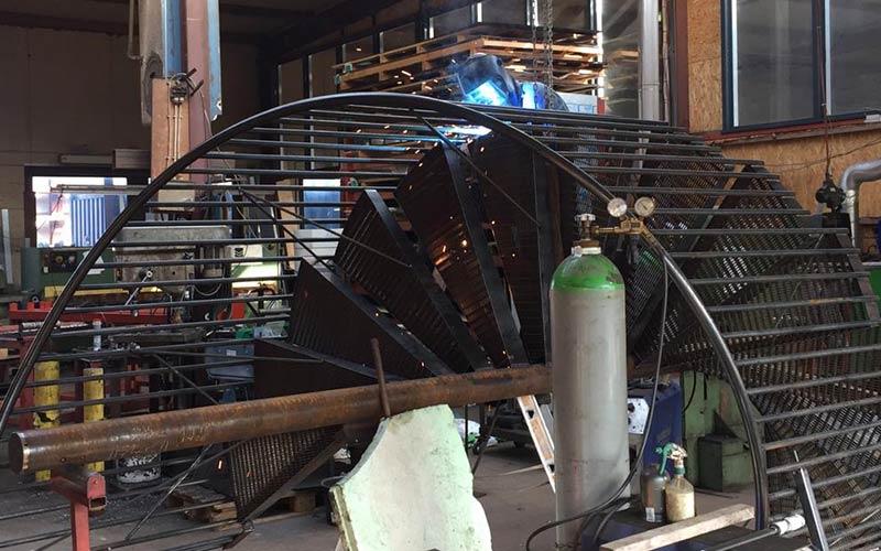 Bremer Stahl- und Metallbau - Treppenbau